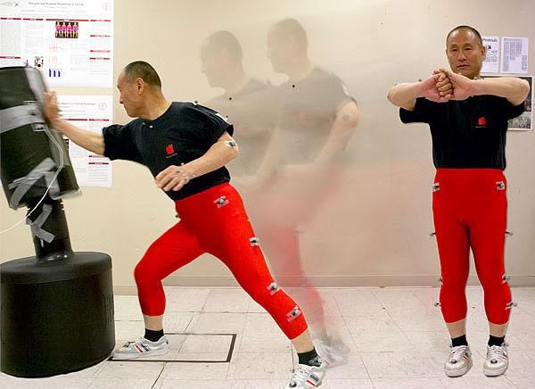 Chen Xiang - Motion Capture Study